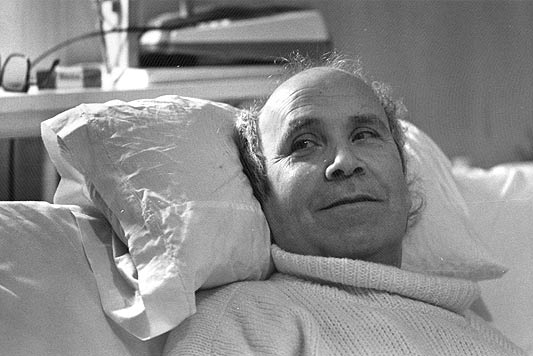 O galego Ramón Sampedro escribiu o libro Cartas desde el infierno cun lapis na boca