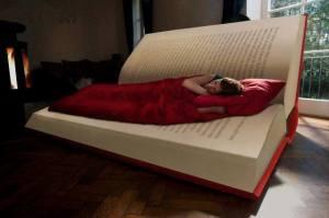 Sentir el cobijo de un libro