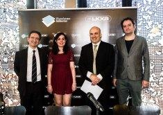 Andrea tomé fue la ganadora del premio La Caixa (fuente: prensa La Caixa)