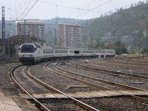 Estación de tren Ourense, muy importante en la historia