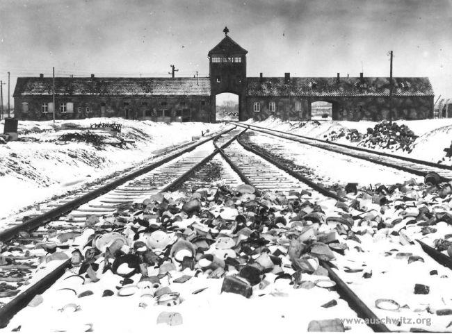 Campo de concentración de Auschwitz, uno de los símbolos del terror de la Segunda Guerra Mundial