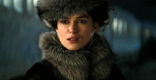 Keira Knightley en el papel de Anna Karenina en la versión de 2013  del director Joe Wright