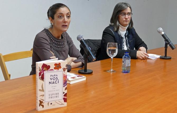 La bilbaína Espido Freire acaba de publicar Para vos nací