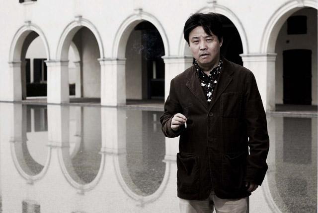 El escritor chino Yu Hua