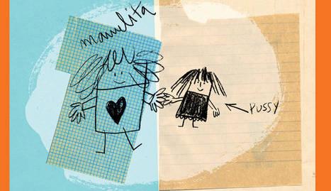 El ilustrador Guridi añade las imágenes al relato de Manuelita y Pussy