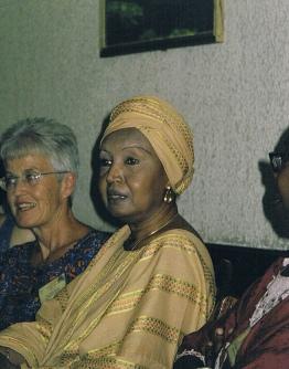 La escritora senegalesa Aminata Maïga Ka
