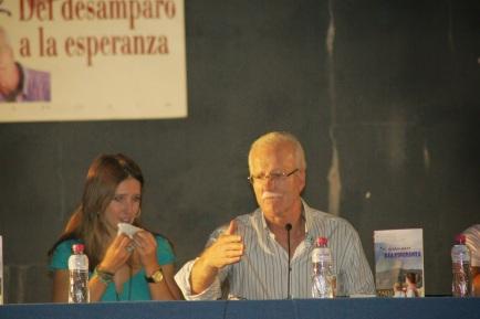 José López Ruiz sintió la necesidad de llenar con palabras sus silencios