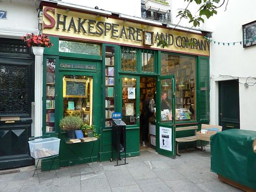 La librería Shakespeare and Co dio refugio a muchas almas errantes