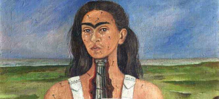 Uno de los cuadros de Frida Kahlo