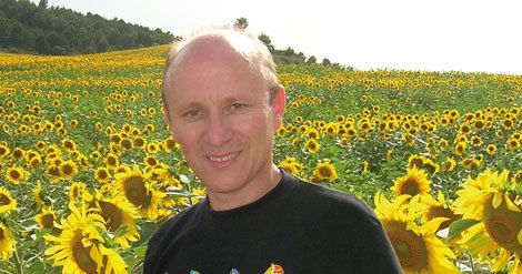 El autor Manuel Cortés Blanco