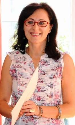 A autora Mª Carmen Caramés
