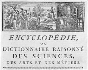 La búsqueda de la primera edición de la Enciclopedia Francesa lleva a una reflexión maestra