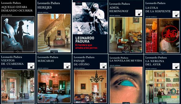 Los libros de Padura tienen a Cuba como telón de fondo y tratan problemas sociales
