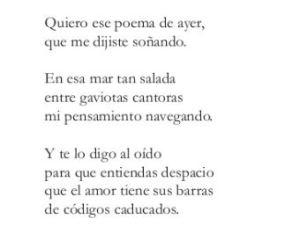 Poema de Domingo Millán