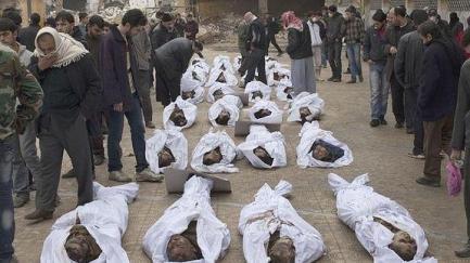 Una de las fotos de J. M. López hechas en Siria