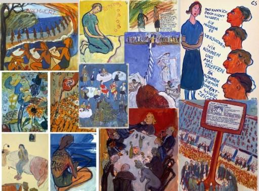 Charlotte Salomon fue una pintora que murió en el campo de Auschwitz a os 26 años estando embarazada