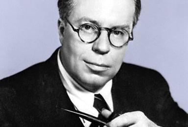 El autor Christopher Morley