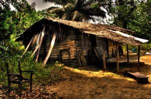 Un paisaje característico de Guinea Ecuatorial