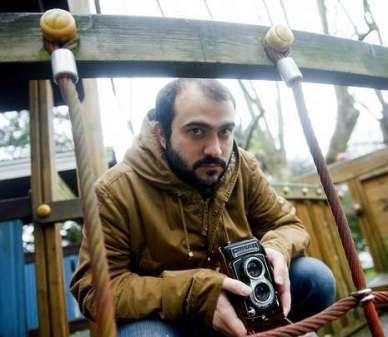 Roberto amado en una fotografía de Ángel Manso