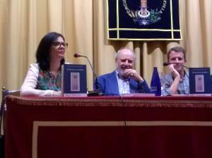 """Presentación de """"El Bastón de Avellano"""" en Sevilla. Fuente: Elena Marqués"""