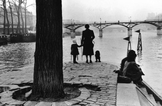 """Pont des Arts"" del fotógrafo Henri Cartier Bresson"