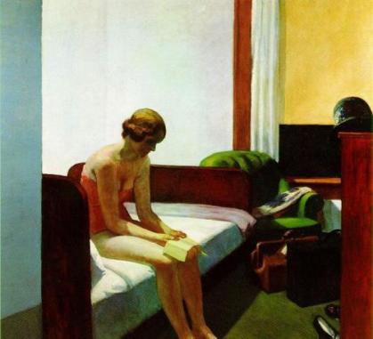 Cuadro 'La lectora' de Edward Hopper