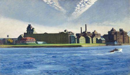 Cuadro de Blackwell Island de Edward Hopper