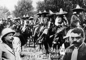 La revolución mexicana se deja ver de fondo en esta historia