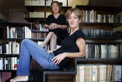 Milena Busquets y su madre Esther Tusquets en 2005. Fuente: Susanna Sáez