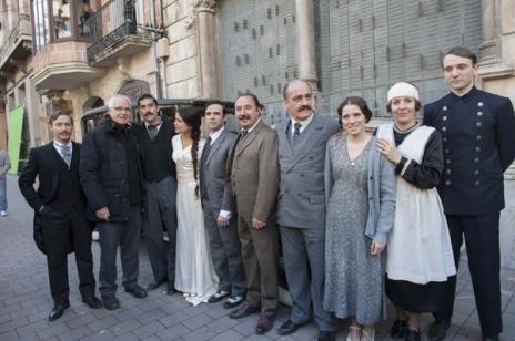 El reparto de la serie Habitaciones cerradas, de TVE