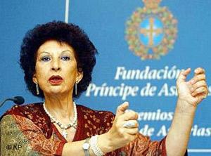 Fatema Mernissi fue ganadora del Premio Príncipe de Asturias de las Letras en 2003