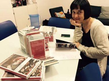"""Pilar Adón, autora de """"Las efímeras"""""""