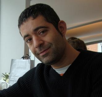 """Pedro Pujante, autor de """"Los huéspedes"""""""