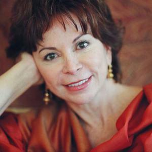 "Isabel Allende, autora de ""Eva Luna"""