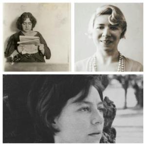 """Las tres poetas protagonistas de """"Tres poemas de mujer"""""""