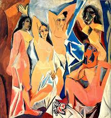 """""""La señoritas de Avignon"""" de Picasso es una referencia muy importante en la novela"""