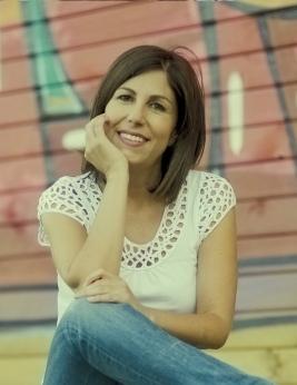 """María Solar, autora de """"As horas roubadas"""""""