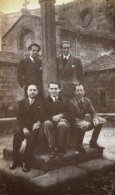 Federico García Lorca nunha visita a Betanzos en maio do 1932