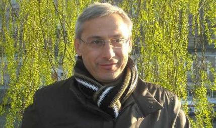"""O escritor Xosé Monteagudo, autor de """"As voces da noticia"""""""