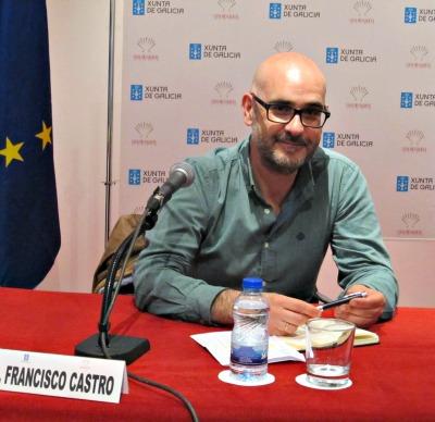 El escritor Francisco Castro