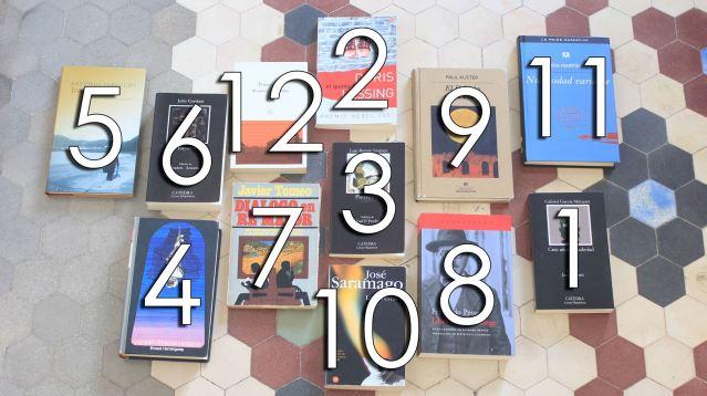 Los libros comentados en la primera temporada de Léeme TV