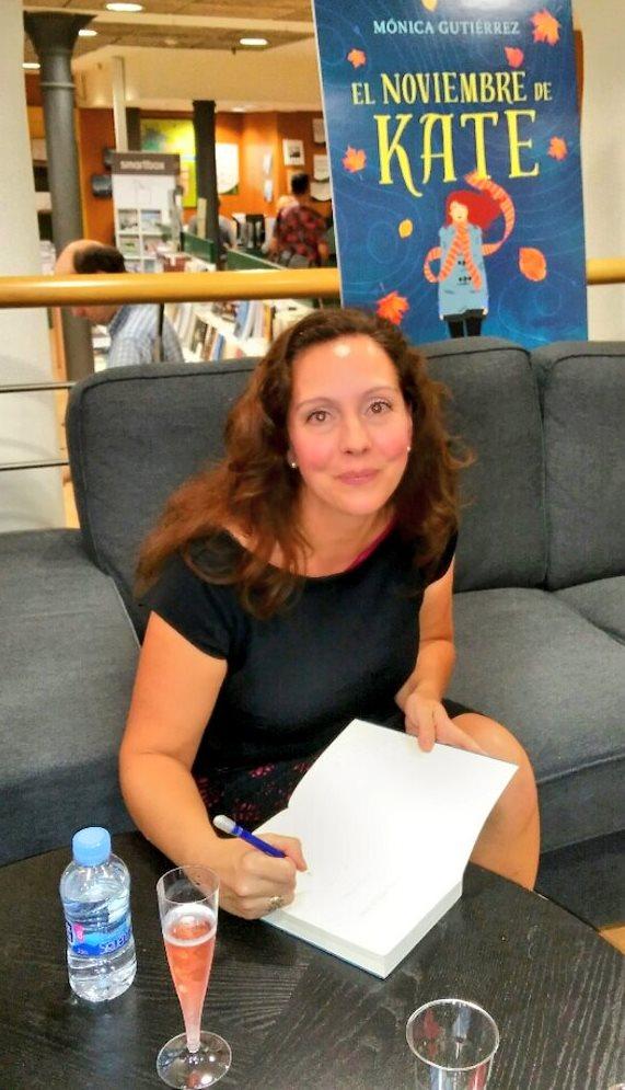 """Mónica Gutiérrez Artero, escritora """"feelgood"""""""