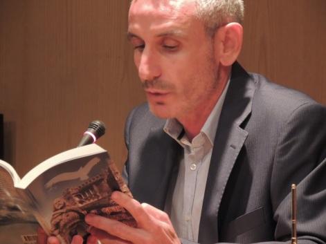 """Manuel Barrena Benítez, autor de """"Adondequiera que fueres"""""""