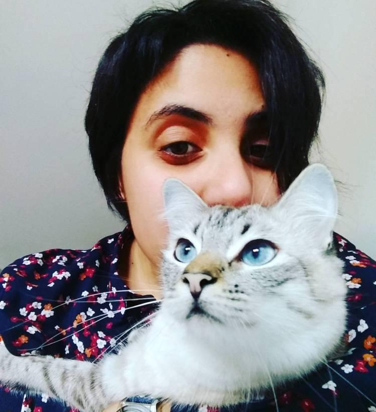 """Miriam Beizana Vigo es autora de """"Marafariña"""" y """"Todas las horas mueren"""""""