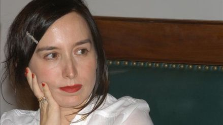 "Blanca Riestra, autora de ""Noire Compostela"""