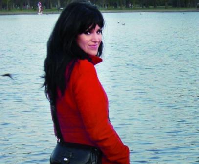 "Iria Collazo López, autora de ""A soidade das medusas"""