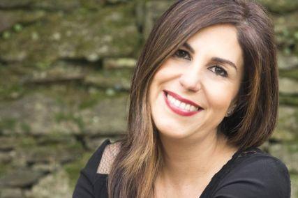 """María Solar, autora de """"Os nenos da varíola"""""""