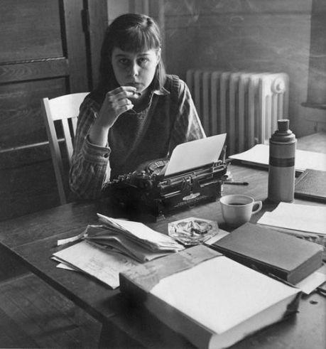 """Carson McCullers, autora de """"A balada do café triste"""""""
