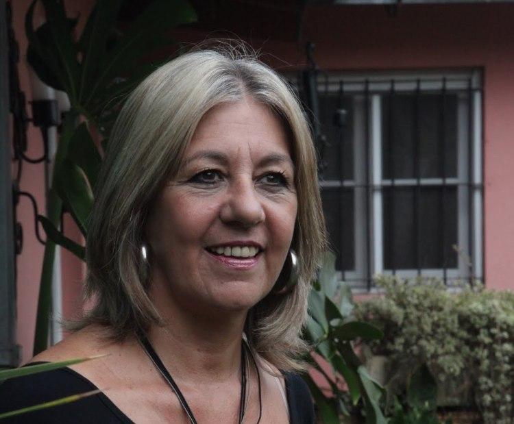 """Laura Massolo, reconocida cuentista y autora de """"La otra piedad"""""""
