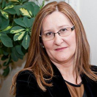 """Luz Gabás, autora de """"Como fuego en el hielo"""""""